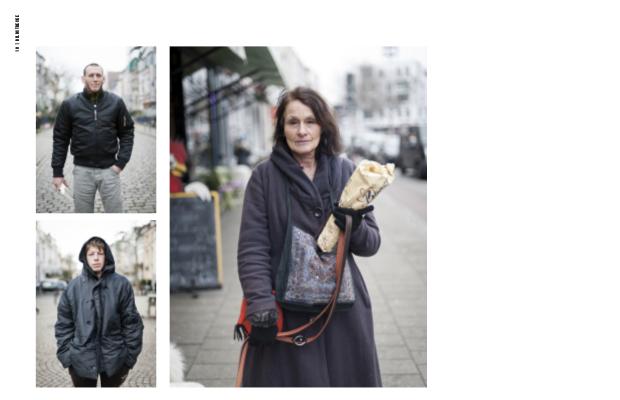 3. Doppelseite der Fotostrecke aus #25 ZIEGENMARKT