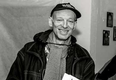 Andreas Kuhlmann, Verkäufer der Zeitschrift der Straße