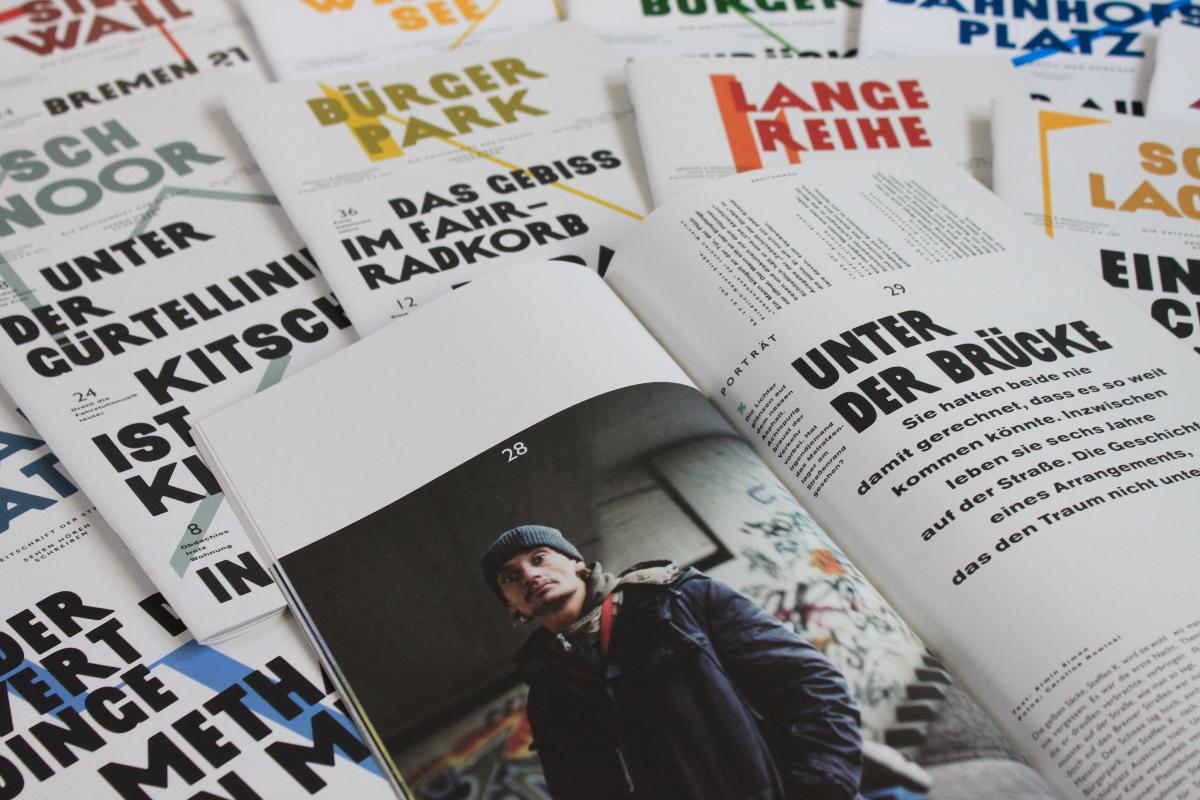 Die Zeitschrift der Straße bis 2014