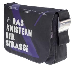 Canvasco-Tasche, Edition Zeitschrift der Straße 2013